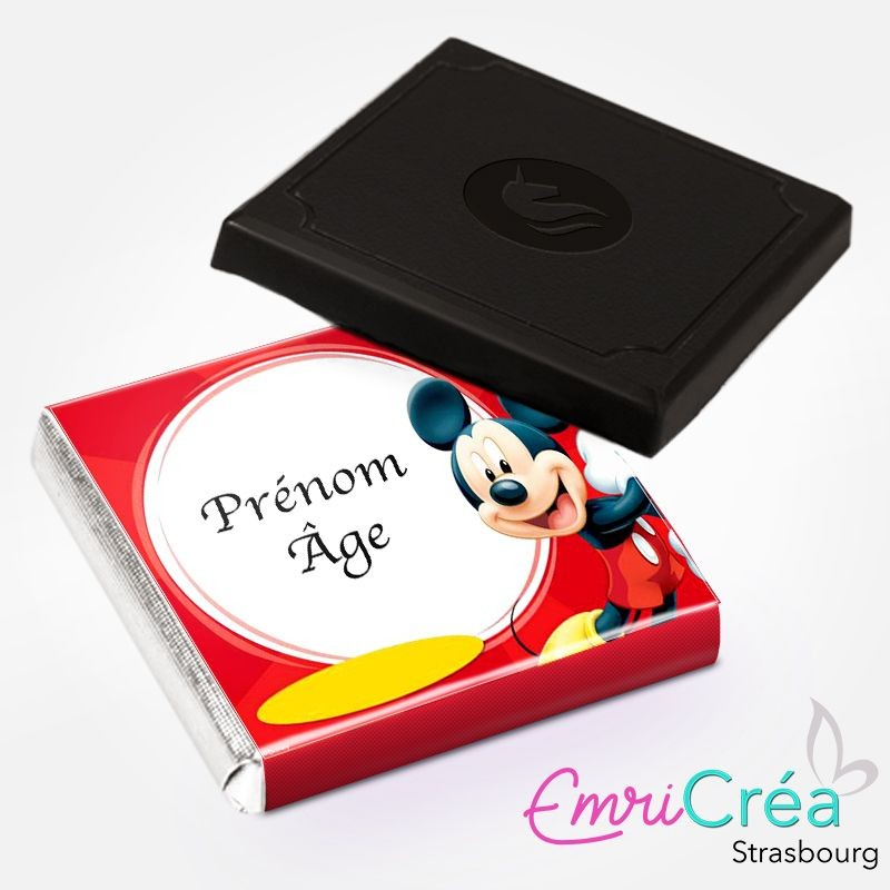 """CHOCOLAT """"ANNIVERSAIRE"""" MICKEY MOUSE"""